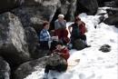 Отдых на вершине. Гора Пидан в апреле. Шкотовский район.