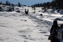 Спуск с Горы Пидан.