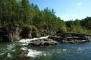 Завалы на реке