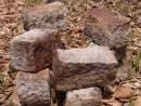 Каменные кирпичики в ущелье. Ущелье щеки Дарданеллы. Партизанский район.