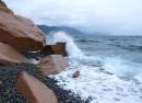 Орлиные скалы в районе п. Преображение