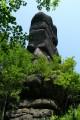 Каменный дед с хребта Зубы Дракона (гора Сестра, Лазовский район)