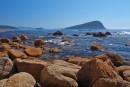 Вид на остров Петрова (Лазовский р-н)