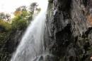 водопад Беневской вид сбоку