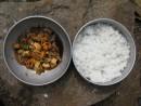 Мидии с рисом. Осталось только смешать )