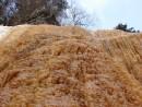 12.Вид на слив водопада снизу.