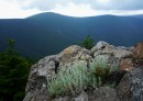 Одна из вершин. Вид на Ливадийский хребет.