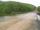 Последствия тайфуна. Дорога в Терней