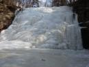 1.04.2012 года. Водопад Горбатов. Шкотовское плато.