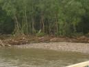 Река Серебрянка после тайфуна Тернейский район