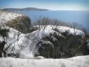 Остров Фнтипенко и кекур Колонна