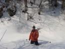 07.Глубина снега в распадке.