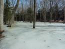 Река замерзла