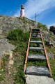 Лестница к сигнальному маячку.