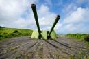 Башенная двухорудийная артиллерийская установка МБ-2-180.
