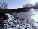 Лазовский перевал. Первый снег.