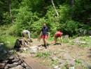 чистим лагерь перед уходом