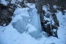 Водопад ледовый