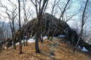 Каменистый утёс с которого открывается замечательный вид на Седанкинское водохранилище.