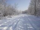 дорога к Петровскому водохранилищу