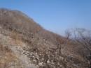 склон горы Сестра и вершина
