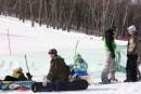 Соревнования сноубордистов на «Пидан Сихотэ»