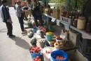 Придорожный базар. Кема. Тернейский район.