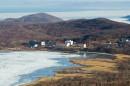 """Бухта Мелководная и база отдыха """"Белый лебедь"""" с форта № 9."""