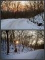 Рассвет и закат мы встречали на одном и том же месте )