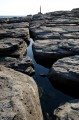 Вода между камней. Мыс Тобизина.
