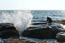 Фотографируя волны. Мыс Тобизина.