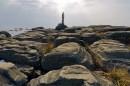 Старый ржавый маяк. Мыс Тобизина.