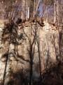 Каменные колонны карандаши. Шкотовское плато. Шкотовский район.