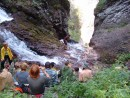 Черный шаман вид с верху. Водопады Тернейского района. Тернейский район.