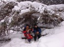Под деревом. Водопад Тигровый. Шкотовское плато. Шкотовский район.