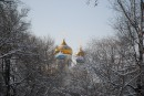 Церковь. Покровский парк.
