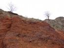 13.Красный вулканический шлак.