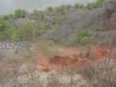 20.Вид на дно древнего вулкана. Высота 160 м.