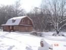 """04.Дуб у дома """"Ковчег""""  1.02.2007 год."""