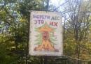 Ботанический сад, Окрестности парка (вход в лесополосу)