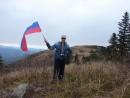 13.10.2012 года. Поездка на г.Туманная (1230 м), хребет Большой Воробей.