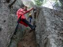 07.Вверх по расщелине.