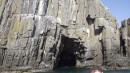 А вот и знаменитый грот на северной стороне острова Сибирякова.