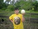 Шамора.инфо и маленькое яичко страуса. Страусиная ферма. Фокино. )))