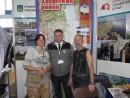 А теперь Алексей Скороход в окружении двух знаменитостей: слева от него Катерина Кравцова (на Шаморе - Kattysark), справа наш земляк Валерий Чекалов (на Шаморе - Valera)