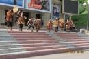 перед началом конференции нас встречал национальный ансамбль Мзнго--между прочим   участник открытия  культурной программы олимпиады в Сочи