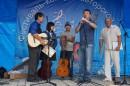 Глава Хасанского муниципального района С. В. Овчинников открывает фестиваль.