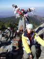 На вершине г.Пидан, 1332 м.