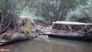 26.После дождей. Мосты были смыты после сильных дождей в августе. Объезды по бродам.