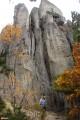 08.Скалы перья. Исполинские каменные столбы напоминающие перья.